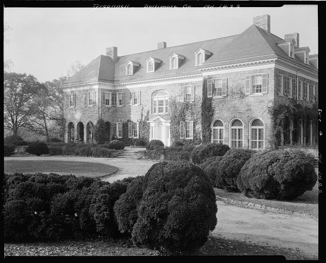 Wye Plantation 1936 Shorpy Old Photos Vintage Photography