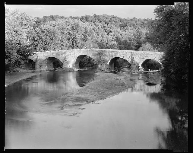 Green Castle Bridge over the Conococheague, Washington County, Maryland