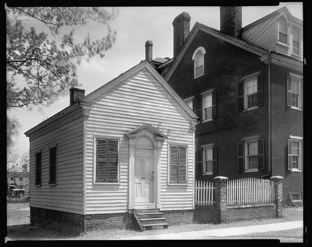 Judge Donnell's House & Law Offices, Craven St. near Queen, New Bern, Craven County, North Carolina