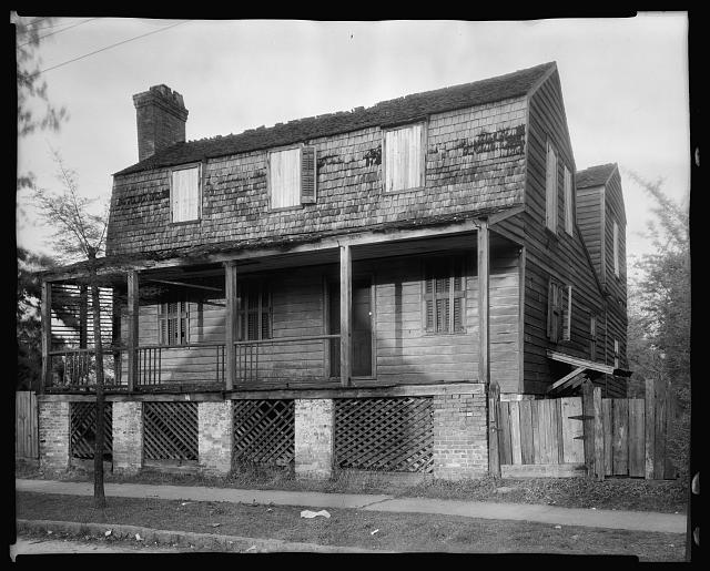 Burns House, New Bern, Craven County, North Carolina