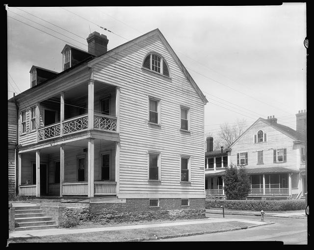 James Coor House, New Bern, Craven County, North Carolina