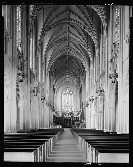 Duke University chapel, Durham, Durham County, North Carolina