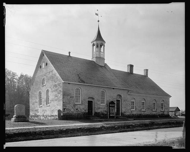 Bethabara Moravian Church, Winston-Salem, Forsyth County, North Carolina