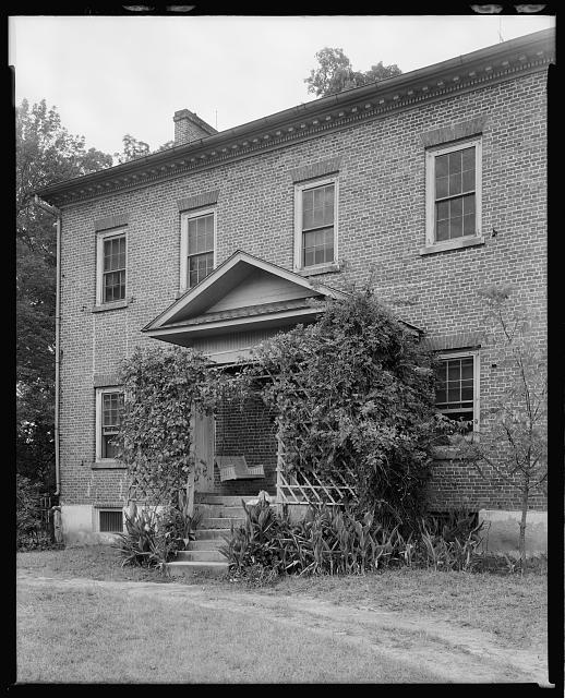 Peter Forney House, Lincolnton vic., Lincoln County, North Carolina