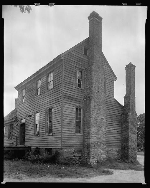 Burr Lou Arrington house, Aventon vic., Nash County, North Carolina
