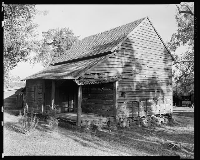 John Knox Emigrant Cabin, Salisbury vic., Rowan County, North Carolina