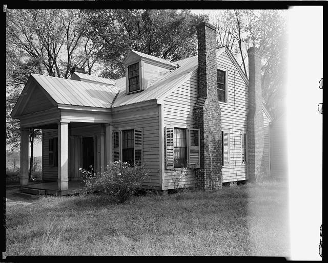 Linn House, Trading Ford Road, Rowan County, North Carolina