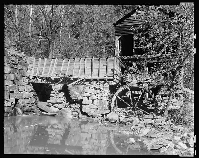 Page Mill, Crabtree Creek, Wake County, North Carolina