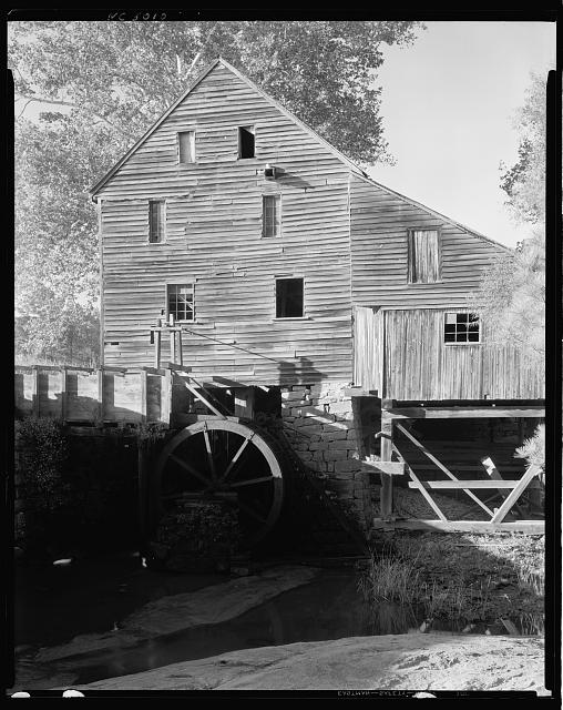 Mill & Cabin, Raleigh vic., Wake County, North Carolina