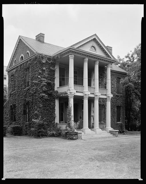 Rectory, Christ Episcopal Church, Raleigh, Wake County, North Carolina