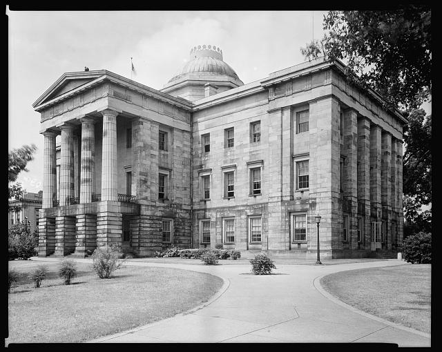 State Capitol, Raleigh, Wake County, North Carolina