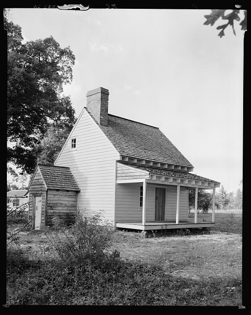 Nathaniel Macon house, Vaughan vic., Warren County, North Carolina