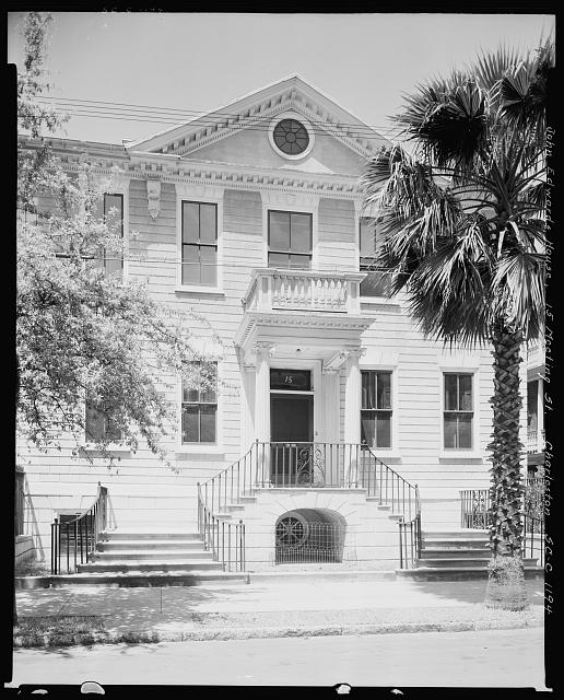 John Edwards House, 15 Meeting St., Charleston, Charleston County, South Carolina