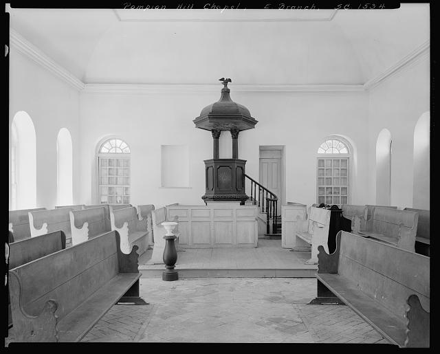 Pompion Hill Chapel, Huger vic., Berkeley County, South Carolina