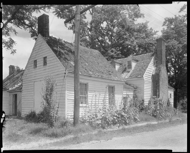 Ailworth Cottage, Accomac Court House, Accomac County, Virginia