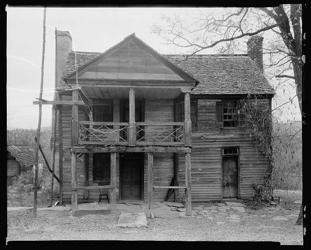 Giddings House, Brown's Cove, Albemarle County, Virginia