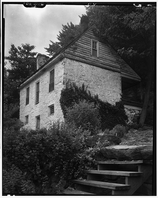 Johnston's Mill House, Albemarle County, Virginia