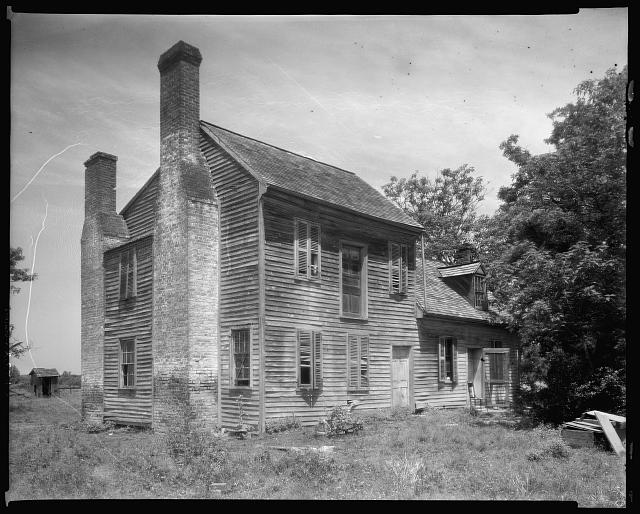 Cox House, Spotsylvania County, Virginia
