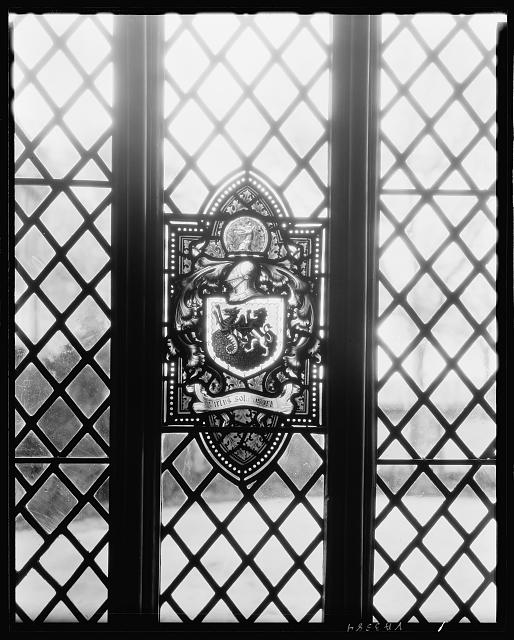 Agecroft Hall, window, Richmond, Henrico County, Virginia