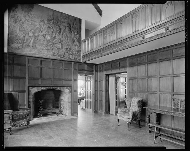 Agecroft Hall, Great Hall, Richmond, Henrico County, Virginia