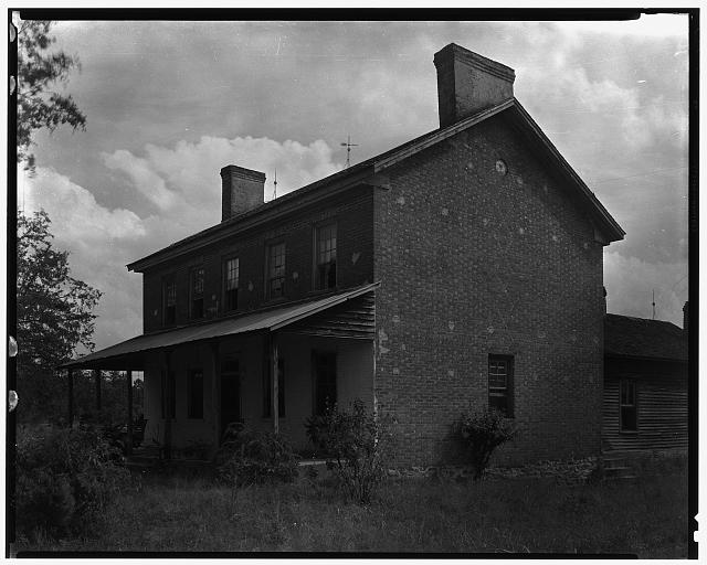A. Loretz House, Lincolnton vic., Lincoln County, North Carolina