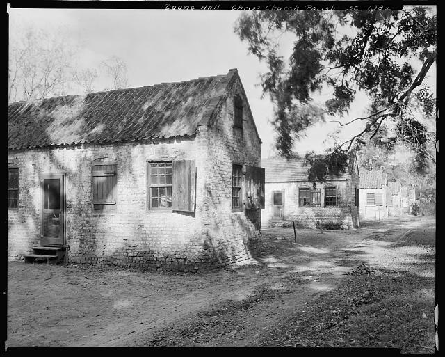 Boone Hall, buildings on grounds, Mount Pleasant vic., Charleston County, South Carolina