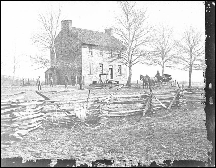 [Bull Run, Va. Matthews' or the Stone House]