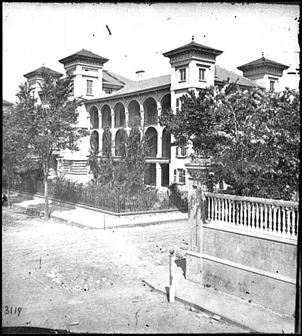 [Charleston, S.C. Roper's Hospital; a closer view]
