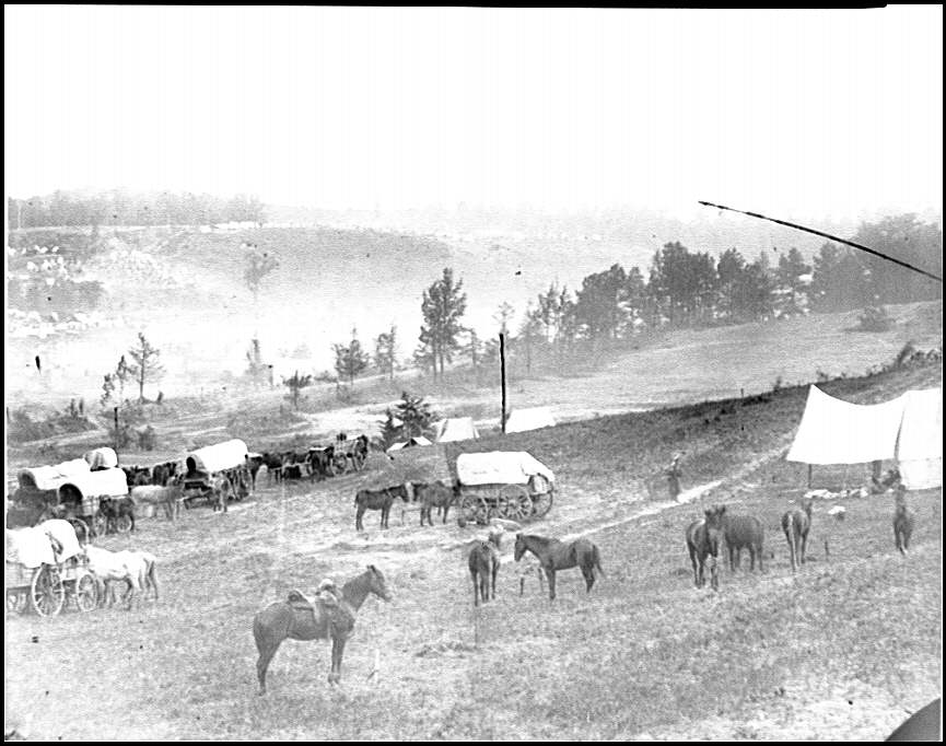 [Cumberland Landing, Va. Federal encampment; another view]
