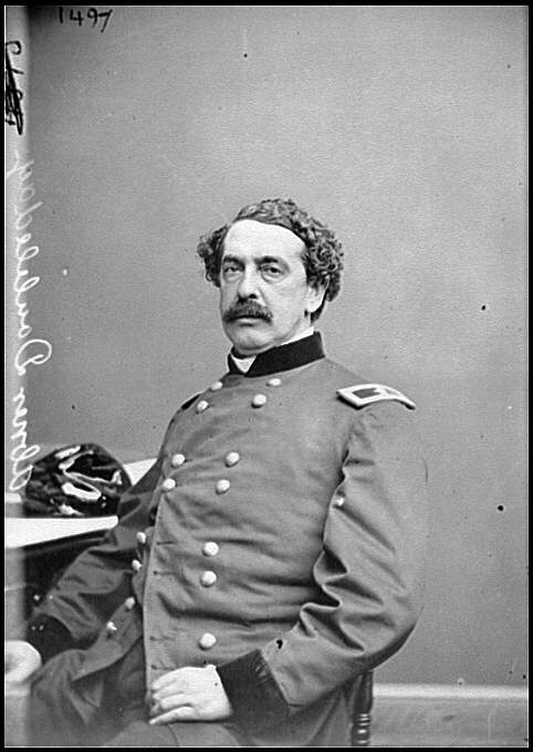 [Portrait of Brig. Gen. Abner Doubleday, officer of the Federal Army (Maj. Gen. from Nov. 29, 1862)]
