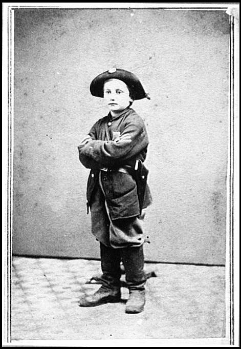 [Portrait of boy soldier]