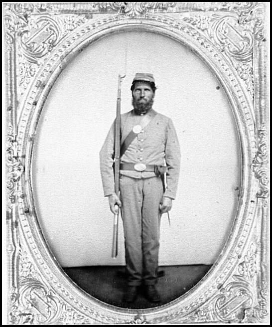 [Portrait of a Confederate soldier?]