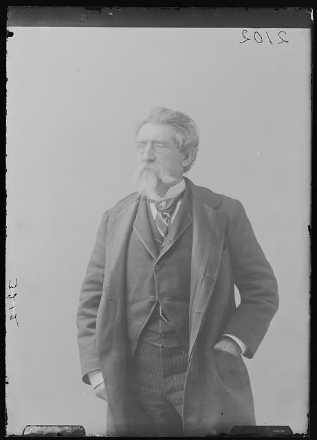 [Photographer Mathew B. Brady, three-quarter length portrait, facing front]
