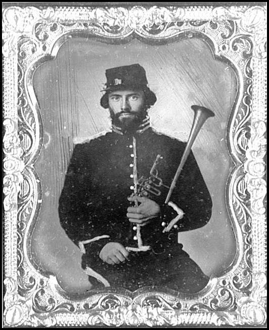 [Portrait of a musician, 2d Regulars, U.S. Cavalry]