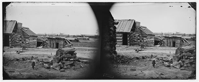 Centreville, Virginia. Winter quarters of Confederate army