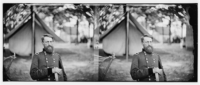 Fair Oaks, Virginia (vicinity). Gen. George Stoneman, U.S.A.