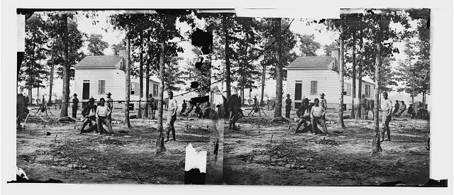 [Fair Oaks, Va., vicinity. Quarles house, where many dead were buried]