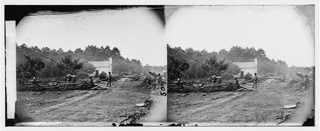 [Cedar Mountain, Va. A Confederate field hospital]