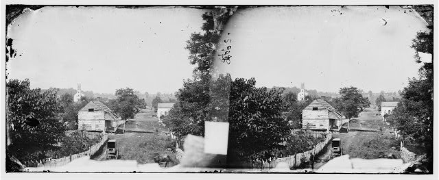 [Sharpsburg, Md. View with Episcopal church in distance]