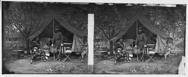 [Westover Landing, Va. Lts. Wright and John W. Ford of Averell's Cavalry]