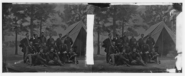 [Harrison's Landing, Va. Members of the class of 1860, U.S. Military Academy]