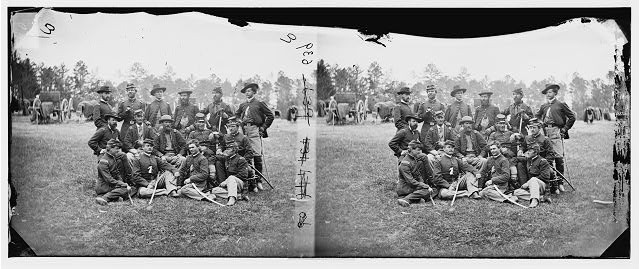 Fair Oaks, Virginia (vicinity). Brigade officers of the Horse Artillery commanded by Lt. Col. William Hays