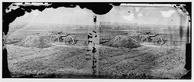 [Fredericksburg, Va. View of town from Tyler's Battery]
