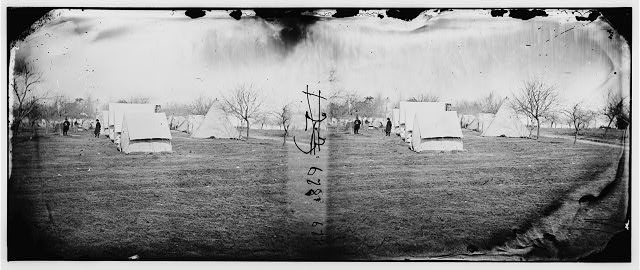 [Falmouth, Va., vicinity. Balloon camp]