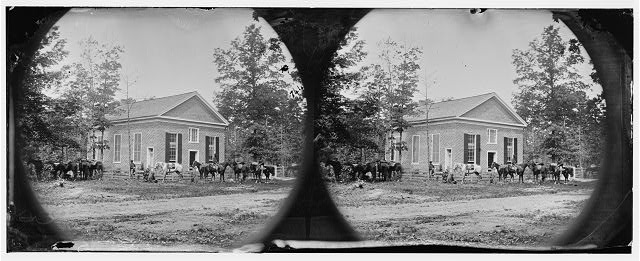 [Bethel Church, Va. View of the church, temporary headquarters of Gen. Ambrose E. Burnside]