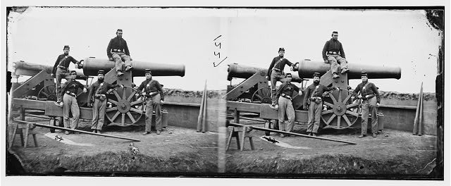 Washington, District of Columbia. Officers and men, 3d Regiment, Mass. Heavy Artillery