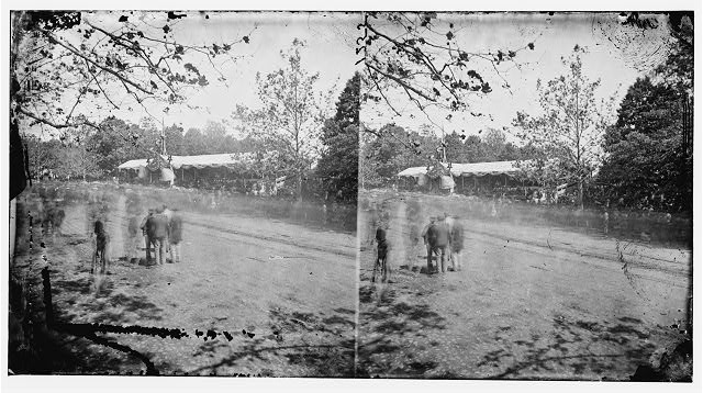 Washington, District of Columbia. Grand review of the army. Troops passing reviewing stand