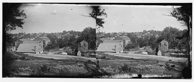 Petersburg, Virginia. View of mills