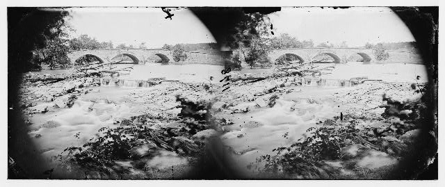 Antietam, Maryland. View of Antietam bridge