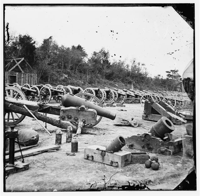 Broadway Landing, Appomattox River, Virginia. Ordnance (?)